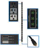3-Phase Metered Power Distribution Unit, 5.7 kW, 42 5-15/20R outlets, 120V output, 6 ft NEMA L21-20P input connection -- PDU3MV6L2120LV