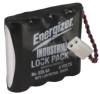 ELECTRONIC LOCK BATTERY 4 PACK AA -- IBI95-0045