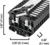 4 square mm Fuse Terminal Block -- 1492-H5