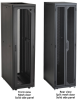 45U Server Cabinet Tap Plexi-Front, Black -- EC45U2436TPMS3NK -- View Larger Image