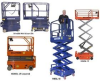 Drivable And Push-Able Scissor Lifts -- HDMSL-19C -Image