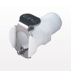 PMC Series Coupling Body, Shutoff Acetal In-Line Pipe Thread -- PMCD1002 -- View Larger Image