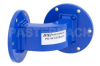WR-137 Commercial Grade Waveguide E-Bend with UG-344/U Flange Operating from 5.85 GHz to 8.2 GHz -- PE-W137B001 -Image