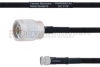 N Male to SMA Male MIL-DTL-17 Cable M17/84-RG223 Coax in 100 cm -- FMHR0042-100CM -Image