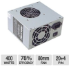 DiabloTek PSDA400 DA Series Power Supply - ATX, 400-Watt, 2 -- PSDA400