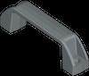 Pull handles, zinc alloy -- 1045 - Image