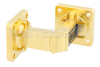 WR-51 Instrumentation Grade Waveguide E-Bend with UBR180 Flange Operating from 15 GHz to 22 GHz -- PE-W51B001 -Image