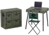 Pelican Administrative Field Desk with Chair & Table - Olive Drab -- PEL-472-ADMIN-DESK-137 -Image