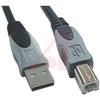 USB 2.0 A Plug to B Plug with 15 ft cable -- 70159514 - Image
