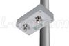 100 mW 2.4 GHz 802.11g Outdoor WiFi Amplifier, RP-TNC Connectors -- HA2401RTG-100
