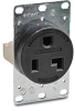 30A Heavy-duty Single Receptacle: straight blade, 125VAC, NEMA 5-30 -- 9530FR
