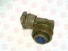 AMPHENOL MS3108A-14S-6S ( CIRCULAR CONNECTOR PLUG SIZE 14S, 6 POSITION, CABLE; MILITARY SPECIFICATION:MIL-DTL-5015 SERIES; CIRCULAR CONNECTOR SHELL STYLE:RIGHT ANGLE PLUG; NO. ) -Image