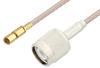 SSMC Plug to TNC Male Cable 36 Inch Length Using RG316 Coax -- PE3C4417-36 -Image