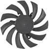 1.20 Watt (W) Power PLD08010B-A Series Type A Frameless Fan -- PLD08010B12L-A -Image