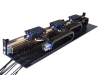 Trilinear Motor Extrusion Single Rail Positioning Stage -- View Larger Image
