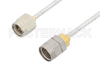SMA Male to 1.85mm Male Cable 6 Inch Length Using PE-SR405FL Coax -- PE36541-6 -Image