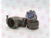 AMPHENOL 97-3108B-18(850) ( CIRCULAR SHELL, PLUG, SIZE 18, AL ALLOY; PRODUCT RANGE:97 SERIES; SHELL TYPE:SPLIT SHELL RIGHT ANGLE PLUG; FOR USE WITH:SIZE 18 INSERTS; CONNECTOR BODY MATERIAL:ALUMINIU... -- View Larger Image