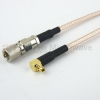 10-32 Male to RA MMCX Plug Cable RG-316 Coax in 36 Inch -- FMC1019315-36 -- View Larger Image