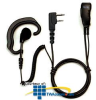 Pryme Radio Products Medium Duty Lapel Mic for Icom Radios -- SPM-300EBIL