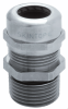 Nickel-Plated Brass Strain Relief with NPT Thread -- SKINTOP® MS-NPT/MSR-NPT