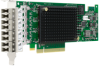 8GFC PCIe 3.0 Quad-port Adapter for Slot-constrained Servers -- LPe15004 FC