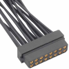 10+10 Pos. Female DIL 28-32AWG Cable Conn. Kit, for Latches -- M80-7882005 -- View Larger Image