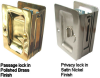Adjustable Pocket Door Locks -- 838112