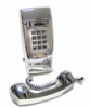 Asimitel 2554 CP All-Chrome Touch-Tone Wall-Mount Telephone - Image