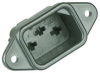 CONNECTOR, POWER ENTRY, RECEPTACLE, 15A -- 88F3210