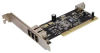 FireWire 4Port (3x6P Ext + 1x6P Int) Expansion Card PCI -- 1605-SF-01