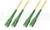 9/125, Single mode Fiber APC Cable, SC / SC, 5.0m -- SFODSCA-05 -Image