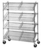 Angled Wire Shelf Cart -- M1860C-4