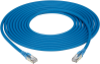 5m BL CAT6A Stranded Ethernet Patch Cable F/UTP CM LS0H Snagless -- EVNSL6F-71-005M