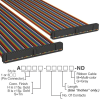 Rectangular Cable Assemblies -- A3CCB-6436M-ND -Image