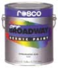Rosco Off-Bdwy Paint - Fire Red - 1 gal. -- 313-360