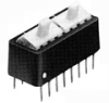 TE Connectivity 3-435469-1  DIP, Rotary DIP, SIP Switches and DIP Shunts - Standard -- 3-435469-1 - Image