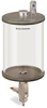 Levelux Clear View Full Flow Manual Dispenser, 1/2 gal Pyrex Reservoir -- B5180-064PBW -- View Larger Image