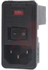 Module, Power Entry, Snap-in, Dual Fuse, Unfiltered, Transformer Apps. -- 70185583
