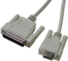 DB9 to DB25 Serial Cable -- CA177