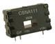 CSN Series closed loop current sensor, measures ac, dc or impulse current, 50 A nominal, ±70 amp range, 1000 turn -- CSNA111