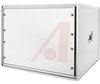 Cabinet; Aluminum; 19.312 in.; 20.812 in.; Gray; 0.05 in.; 0.875 in. -- 70147859