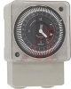 Timer; Surface, Flush (Panel), Din RailMount; Screw; SPDT; 1 VA -- 70132059