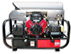 Hot PressureWasher Skid Vangurard 18HP 3500psi@5.5gpm -- HF-6012PRO-20G-V