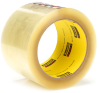 3M Scotch 375 Box Sealing Tape Transparent 72 mm x 50 m Roll -- 375 72MM X 50M TRANSPARENT - Image