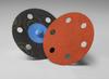 3M Cubitron 777F Coated Ceramic Quick Change Disc - 120 Grit - 3 in Diameter 6 Vacuum Holes - 28072 -- 051141-28072 - Image