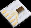 Miniaturized Planar Liquid Flow Sensor -- LPG10 - Image