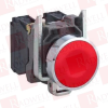 PUSHBUTTON RED 1NC CONTACT 22MM SPRING RETURN -- 2419831