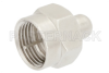 0.25 Watt RF Load Up to 3 GHz With 75 Ohm F Male Input Nickel Plated Zinc -- PE6202 -Image