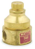 Water Pressure Regulator,1/4In,Brass -- 5AJ85