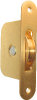 Sash Pulley, Ball Bearing, Solid Brass, 2-1/2
